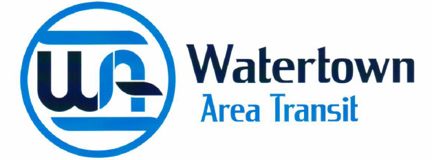 "Watertown Area Transit – ""We're here, to get you there."""