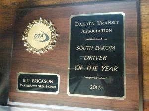 Driver of the Year 2012