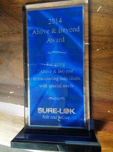 2014 Above & Beyond Award